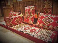 Arabesque ARABIC SEATING foam filled HOOKAH lounge  ...