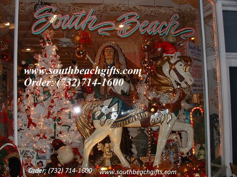 Christmas Carousel Horse Decor For Holiday Party In Jewel Rich   Christmas  Carousel Decoration