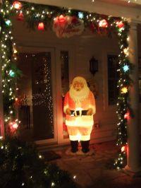 My beloved Polk Brothers Santa Outdoor vintage christmas ...