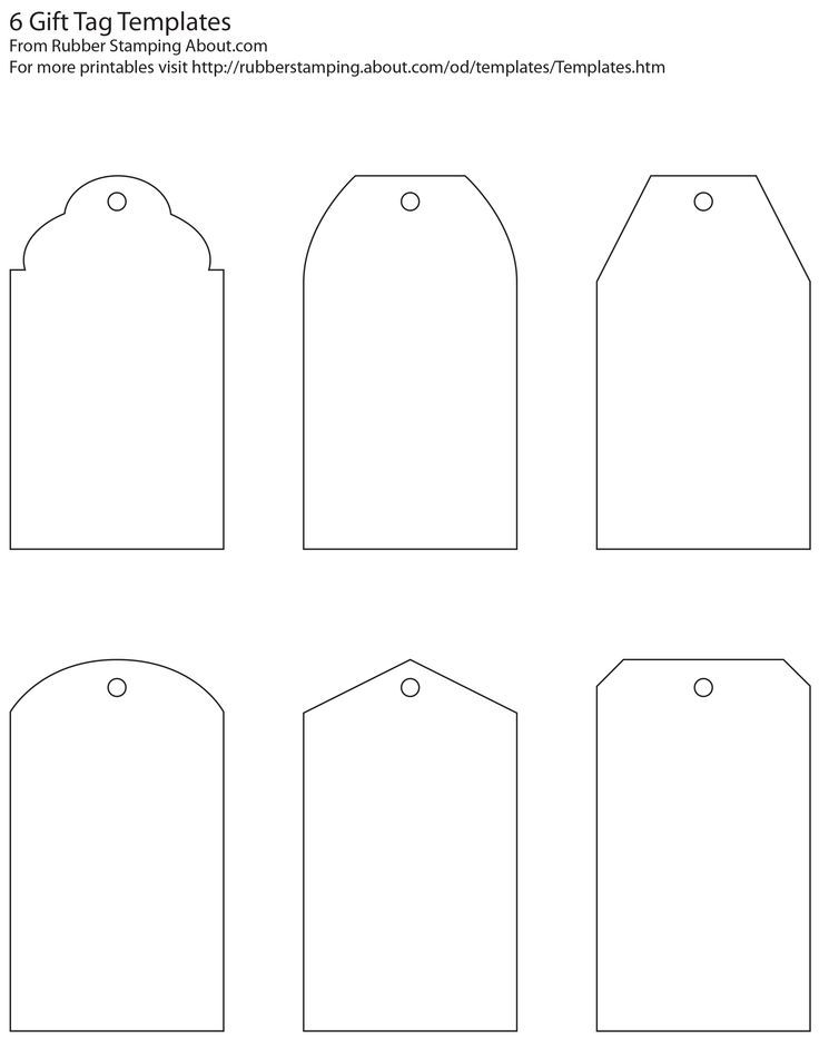 Classic gift tag blank templates (free printable), fill in your - print your own tickets template free