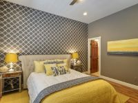 Chic yellow and grey bedroom. | Bedroom | Pinterest | Gray ...