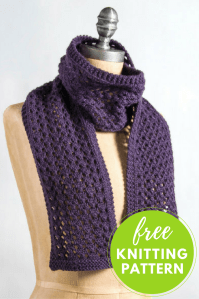 Extra Quick and Easy Scarf Free Knitting Pattern
