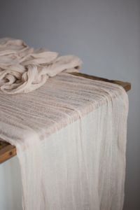 Sand Gauze Runner for Weddings Special Events Centerpieces ...