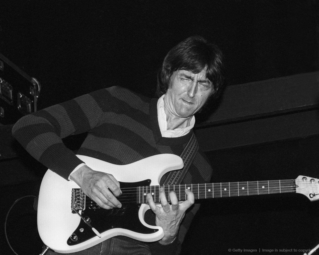 Allan Holdsworth The Very First Guitar We Did For Allan Holdsworth