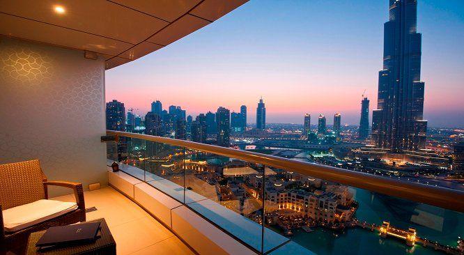 Dubai Apartment View Dubai Marriot Harbour Hotel