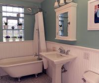 victorian bathroom photos | Bathroom Wainscoting Ideas ...