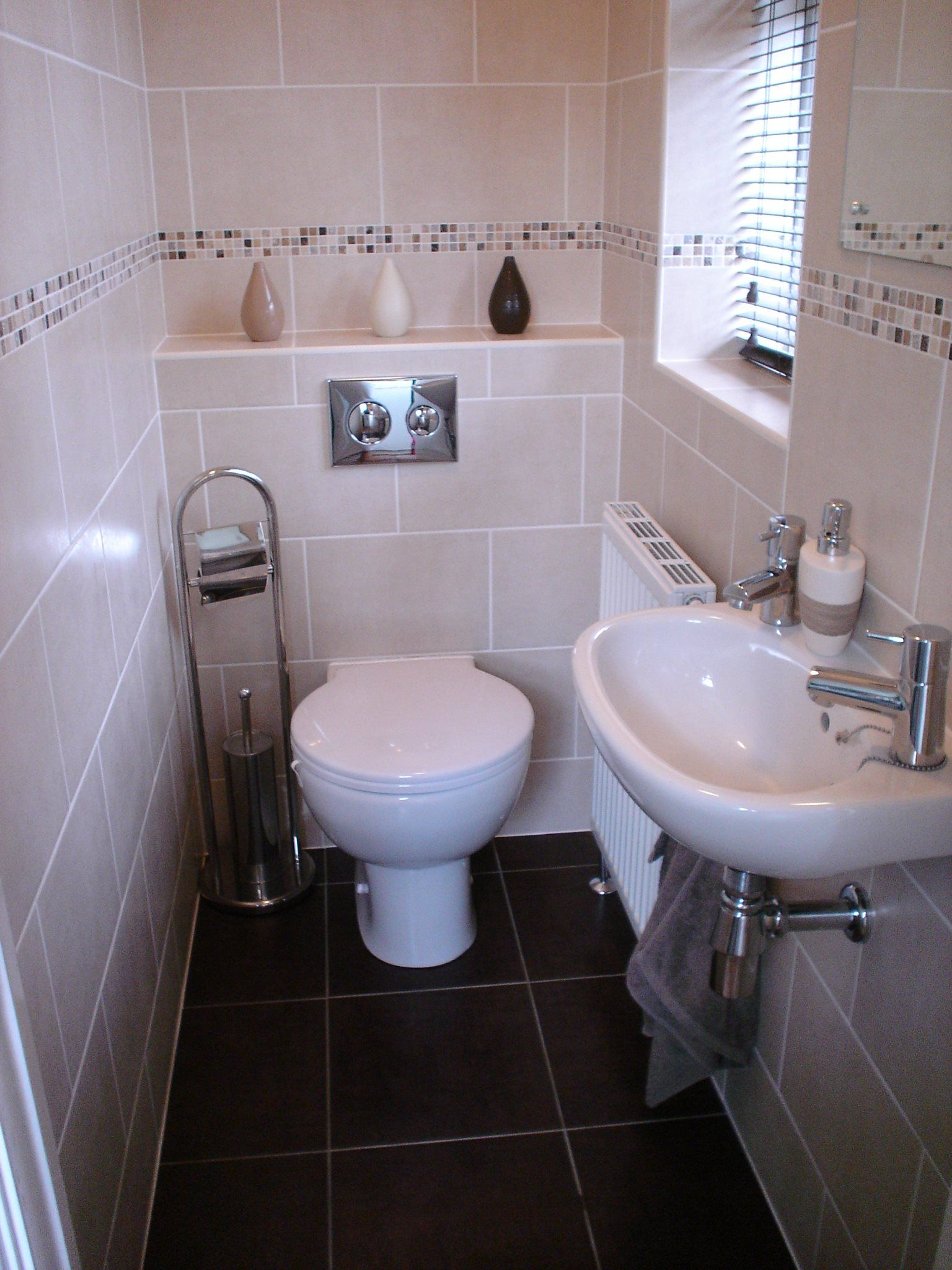 Cloakroom Ideas Images A Cloakroom With Back To Wall Pan And Concealed Cistern