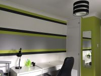 Lime green & grey boy,s bedroom | Boys bedroom | Pinterest ...