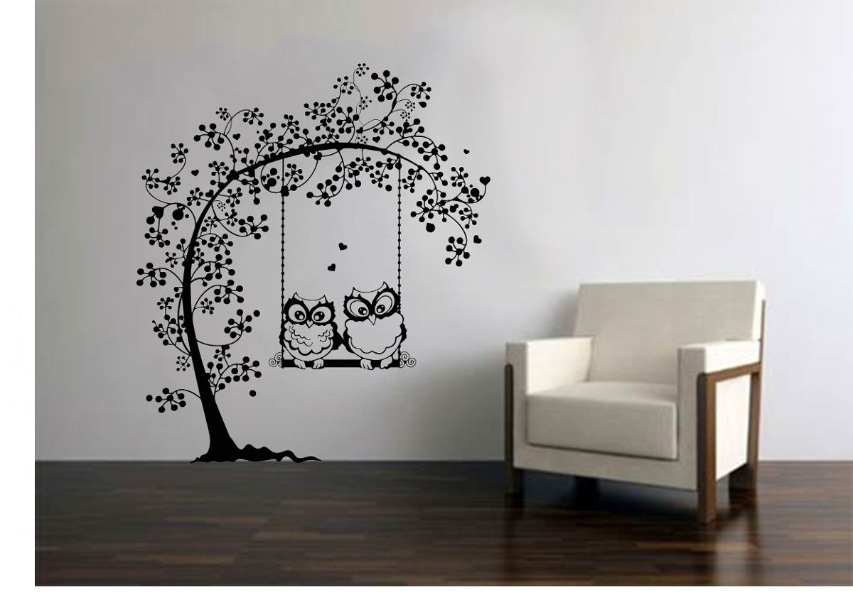Decorar Con Vinilo Stickers Para Pared Arboles Buscar Con Google Decora