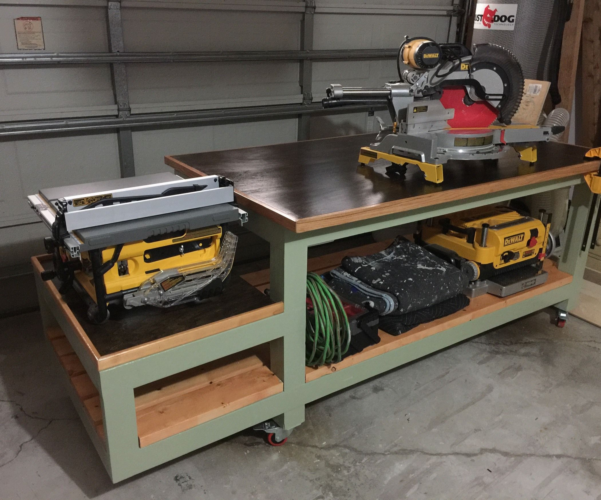 Garage Workbench And Storage All In One Work Bench Tool Storage Storage And Bench