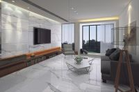 Image result for white floor tiles living room | Living ...