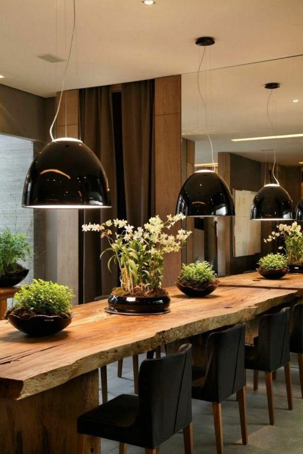 Esstisch rustikal und dessen Platz im ländlichen Esszimmer - innovative esstisch designs moderne esszimmer