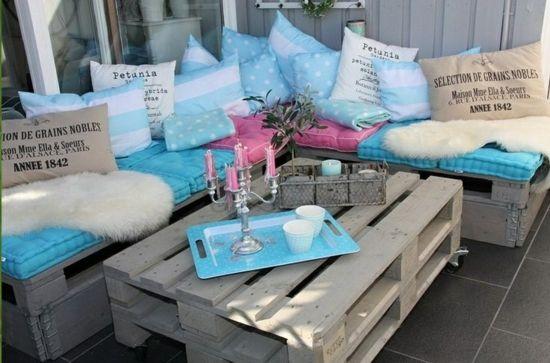 Gartenmöbel aus Paletten u2013 trendy Außenmöbel basteln - gartenmöbel - lounge gartenmobel 22 interessante ideen fur paradiesischen garten