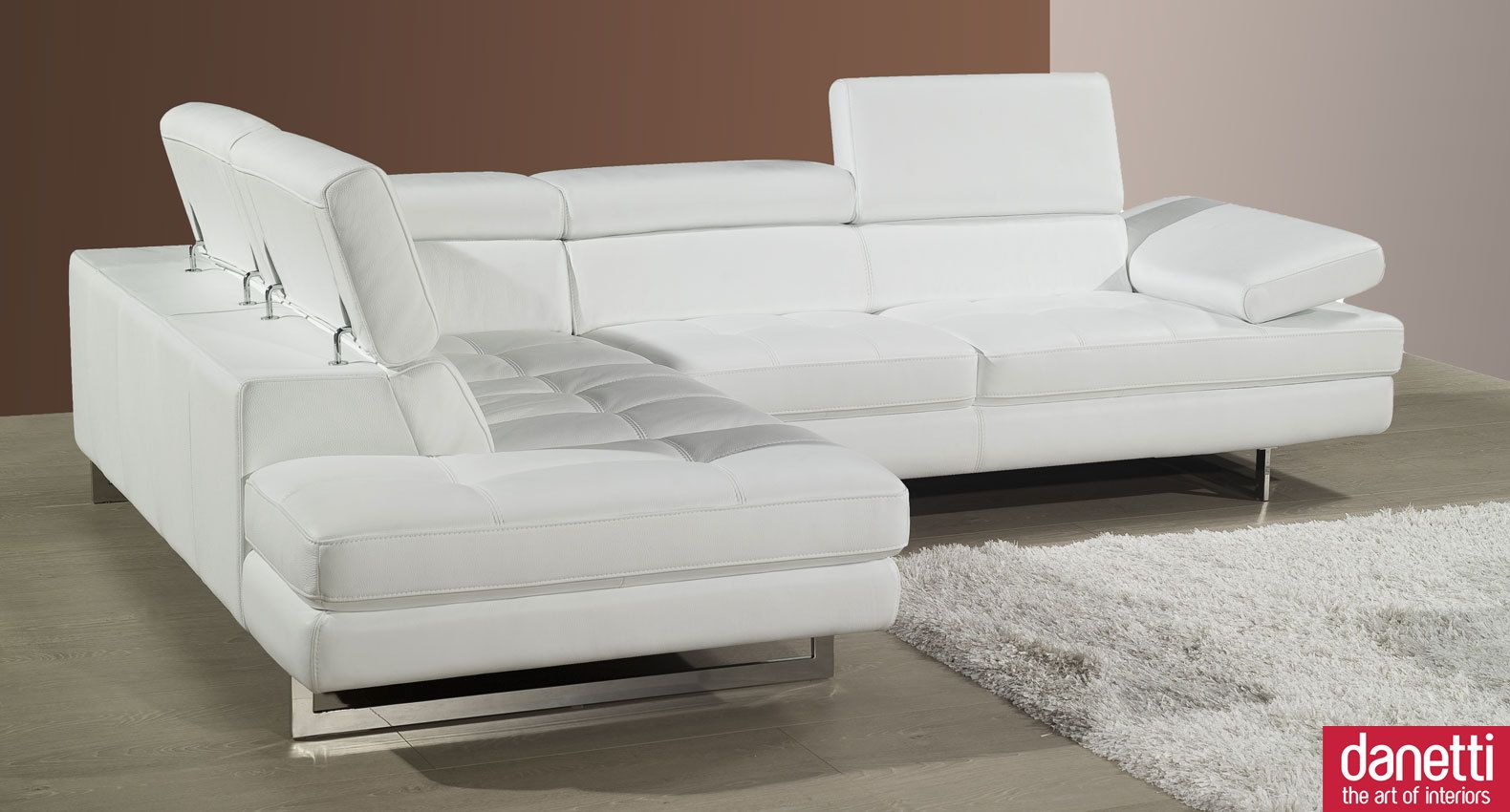 Corner Couches For Sale Home Element Modern Leather Corner Sofa Adjustable