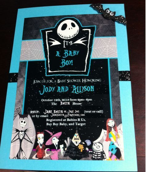 Nightmare before Christmas BABY SHOWER by EZPartyPrintables Baby - nightmare before christmas baby shower decorations