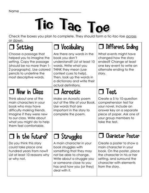 tic tac toe u2013 this is a Language Arts example, but it could easily - sample tic tac toe template