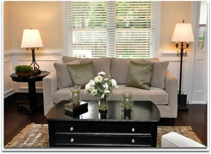 Home Staging - Solutions for Decorating A Small Living Room - decorating small living room