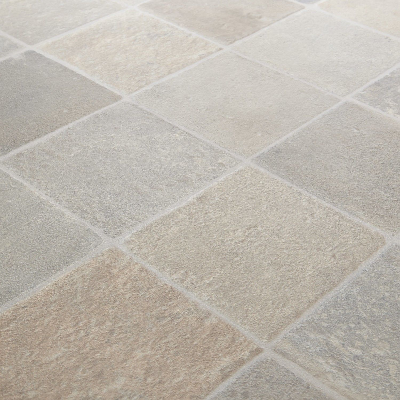 1199 Rhino Classic Cottage Beige Grey Stone Tile Effect