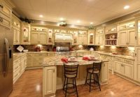 Antique White Kitchen Cabinets With Granite Countertops ...