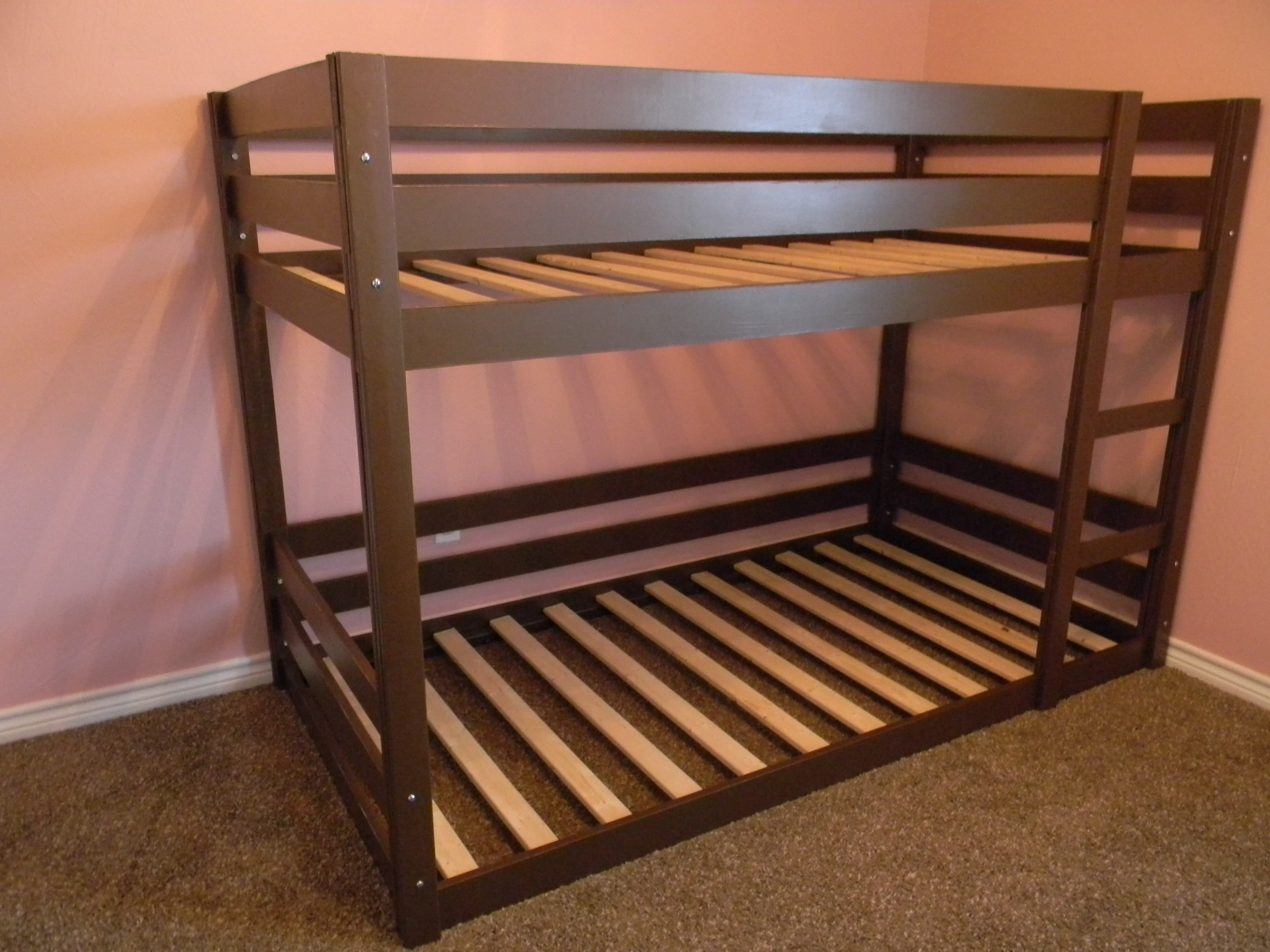 Building A Bunk Bed With Stairs Diy Bunk Beds For The Girls That The Hubby Will Feel