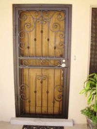 Steel Security Doors In Las Vegas With Contemporary Design ...