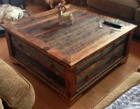 Reclaimed Wood Trunk Coffee Table | pictures | Pinterest ...