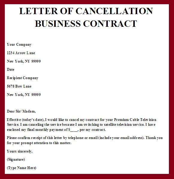 business contract termination letter template | node2004-resume ...
