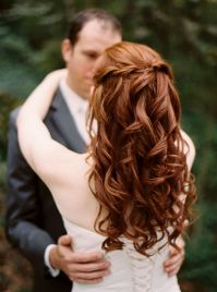 Redheaded bride. Hair by Tony Williams in Knoxville, TN ...