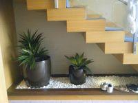 Interior , Adding Indoor Plants To Decorate Space Below ...