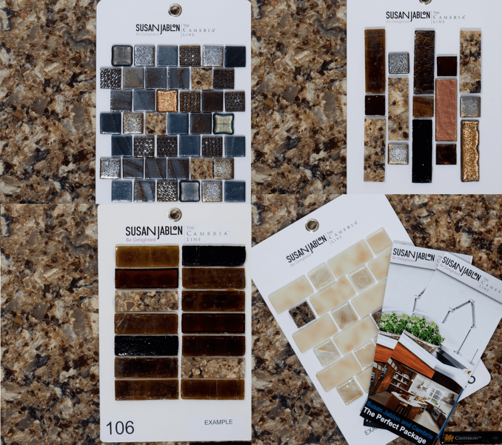 Coordinate Kitchen Cabinets With Espresso Easy Mosaic Tile Backspash Is Diy Worthy | Canterbury