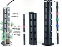 Flower Towers - Gardening (make this with PVC pipe and ...