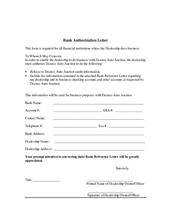 authorization letter for bank writing example resume cover - authorization letters sample