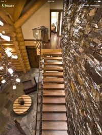 Rustic stairs | Staircase | Pinterest | Rustic stairs ...