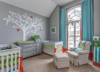 Twinning: Gender-Neutral Nursery Decor For Twins | Neutral ...