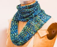 Easy Trellis Lace Scarf (Knitting)