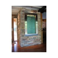 water feature interior | Indoor wall water fountain built ...