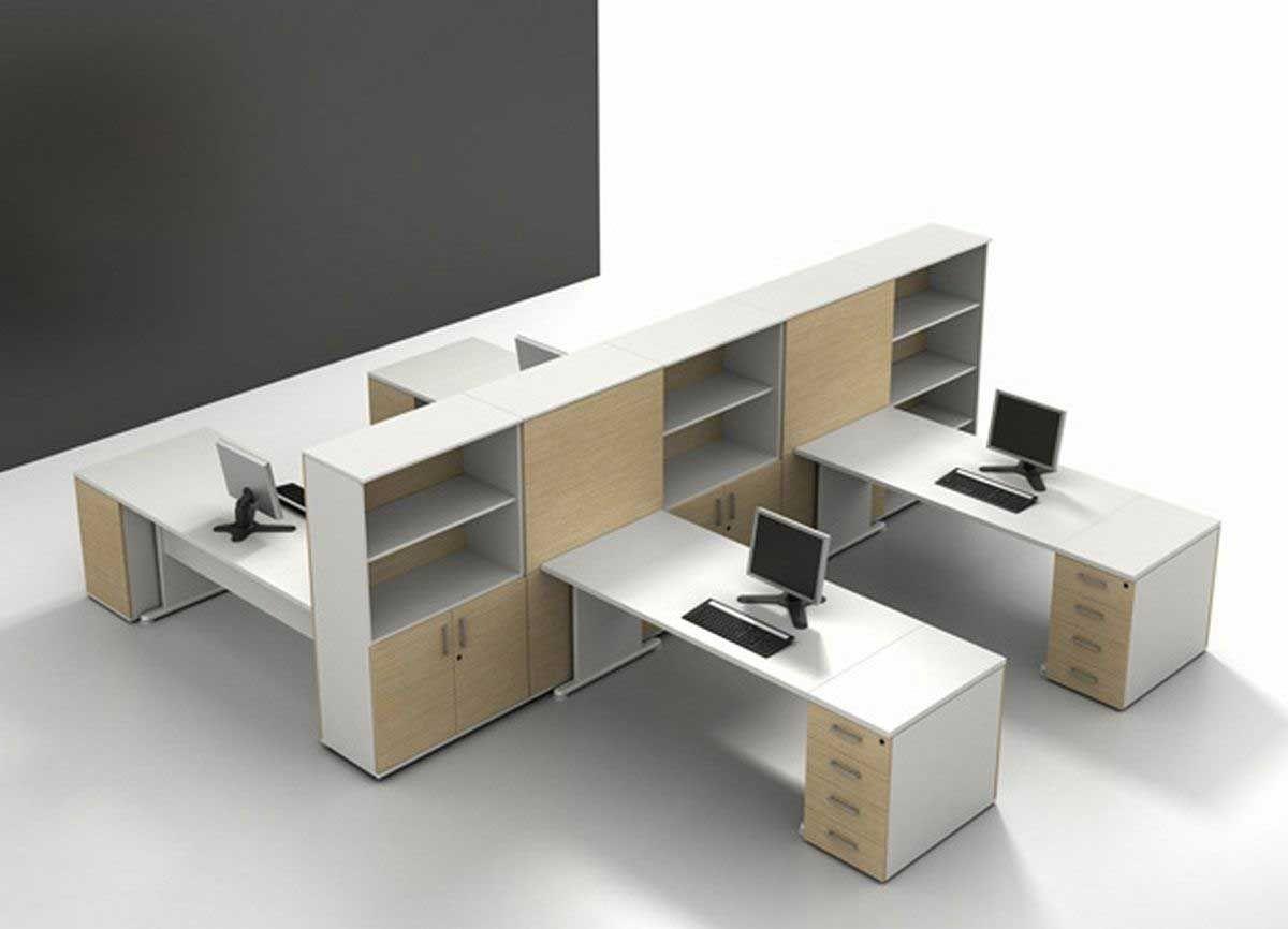 Modern designer office furniture with cabinets office pinterest office furniture modern and office designs