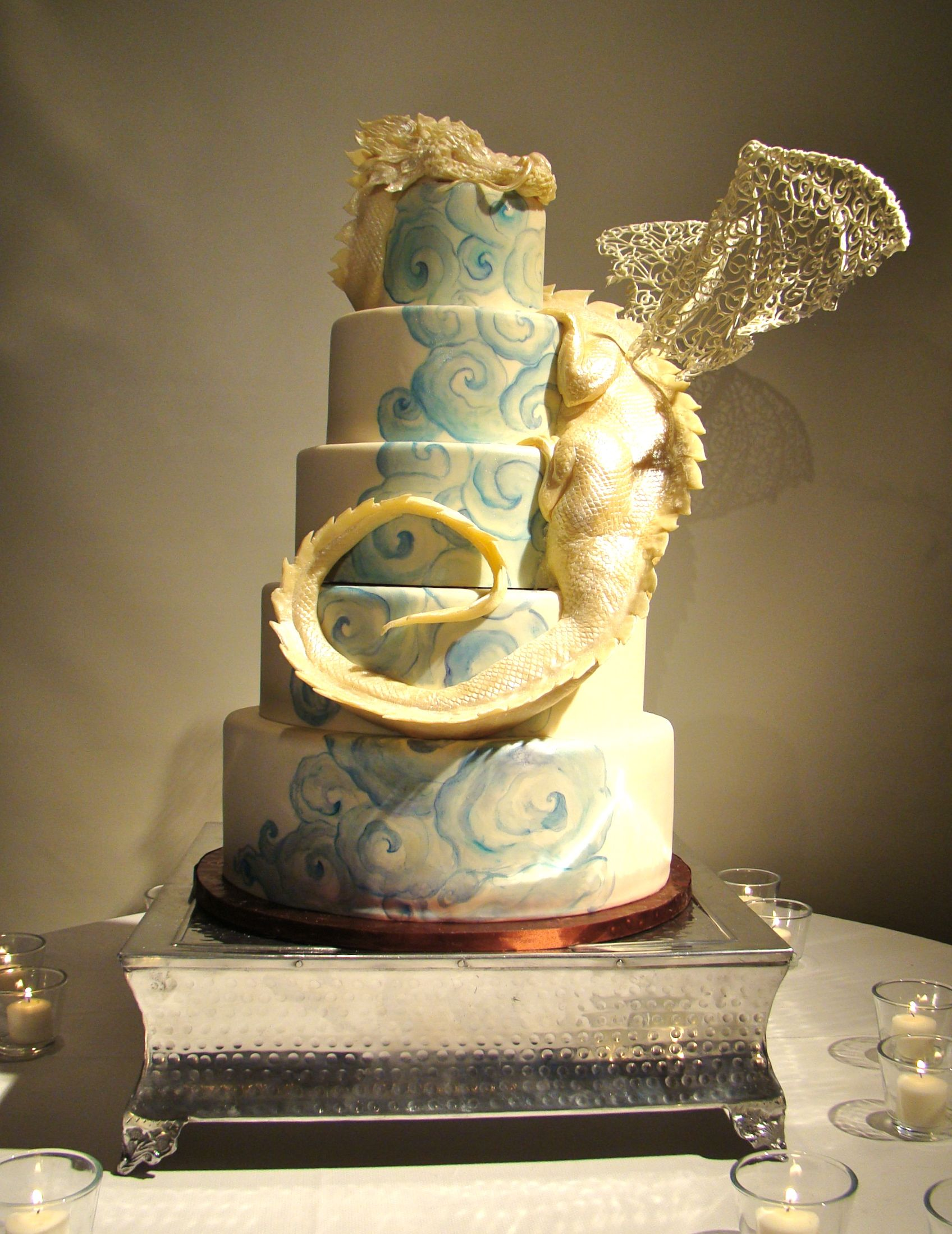 Dragon Bathroom Accessories Dragon Wedding Cake By The Butter End Cakery Cakes