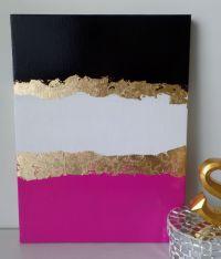 Kate Spade decoration inspired, dorm, Acrylic Canvas ...