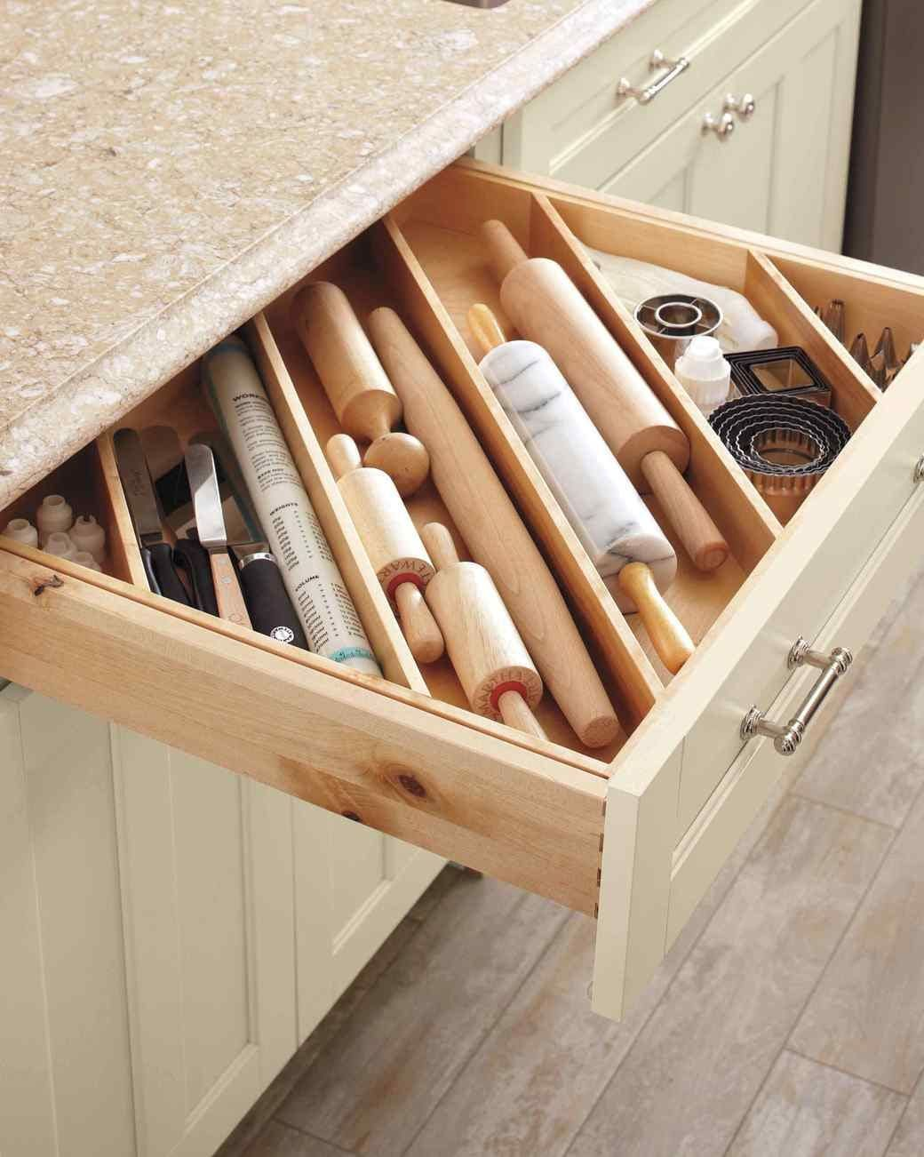 Kitchen Cabinet Drawer Organizers Diy Ideas For Impeccably Organized Drawers Drawer