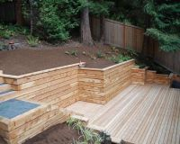 Timber Retaining Walls Design, Pictures, Remodel, Decor