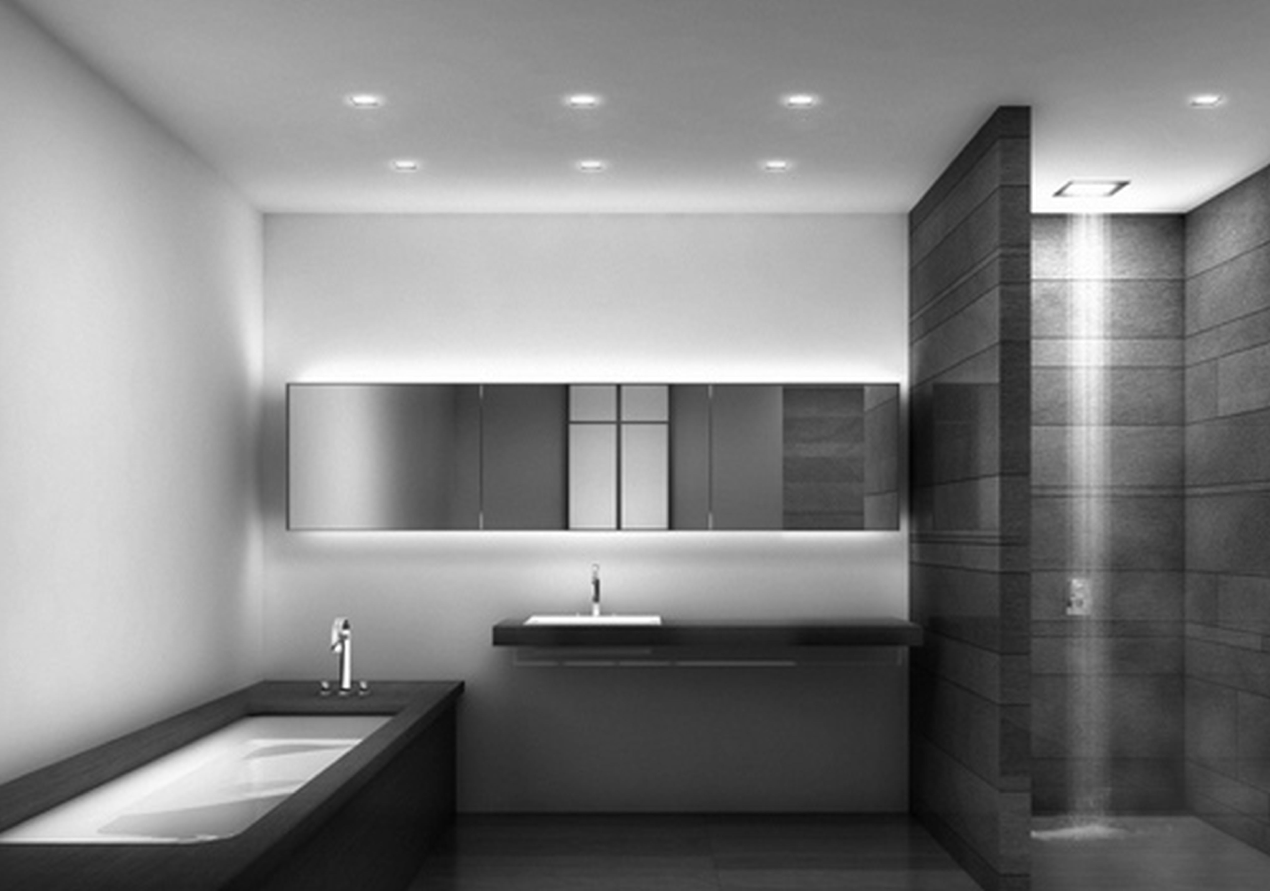 Modern Restroom Designs Modern Bathrooms Intended For Modern Bathrooms Designs