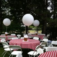 Perfect BBQ baby shower set up. | BBQ Baby Shower ...