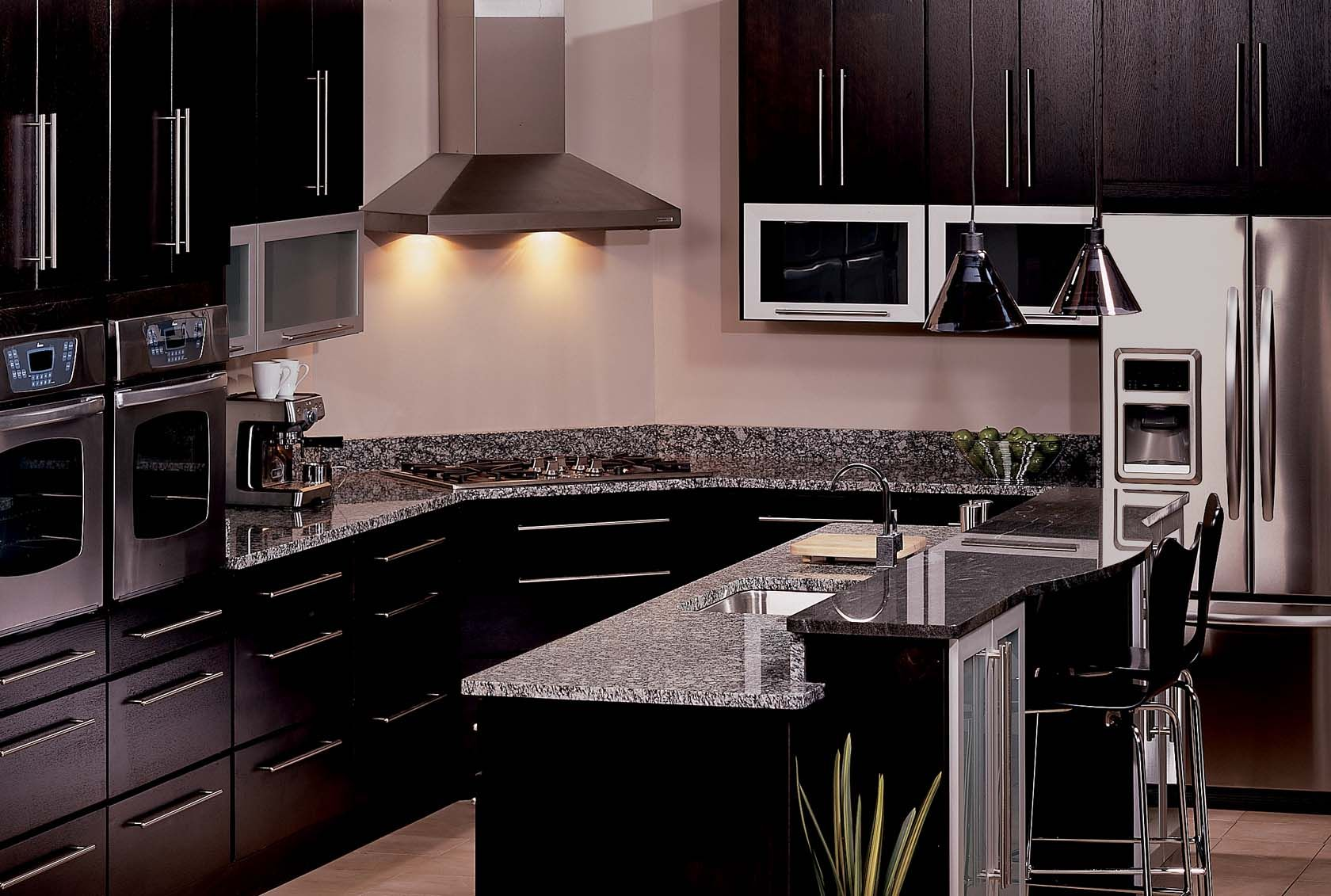 Solid Surface Countertops Utah The Manhattan Style Kabinart Kitchen Comes Complete With A