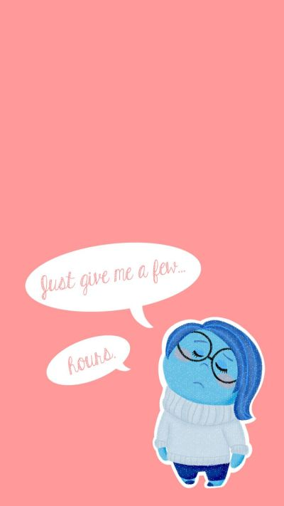 Inside Out // Sadness | Disney Quotes/Lyrics | Pinterest | Sadness, Wallpaper and disney Pixar
