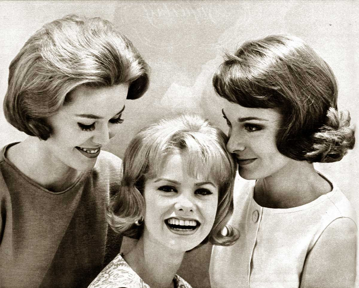 Coiffure 1960 1960s Hairstyles Six Popular Coiffures In 1962 A 1960s