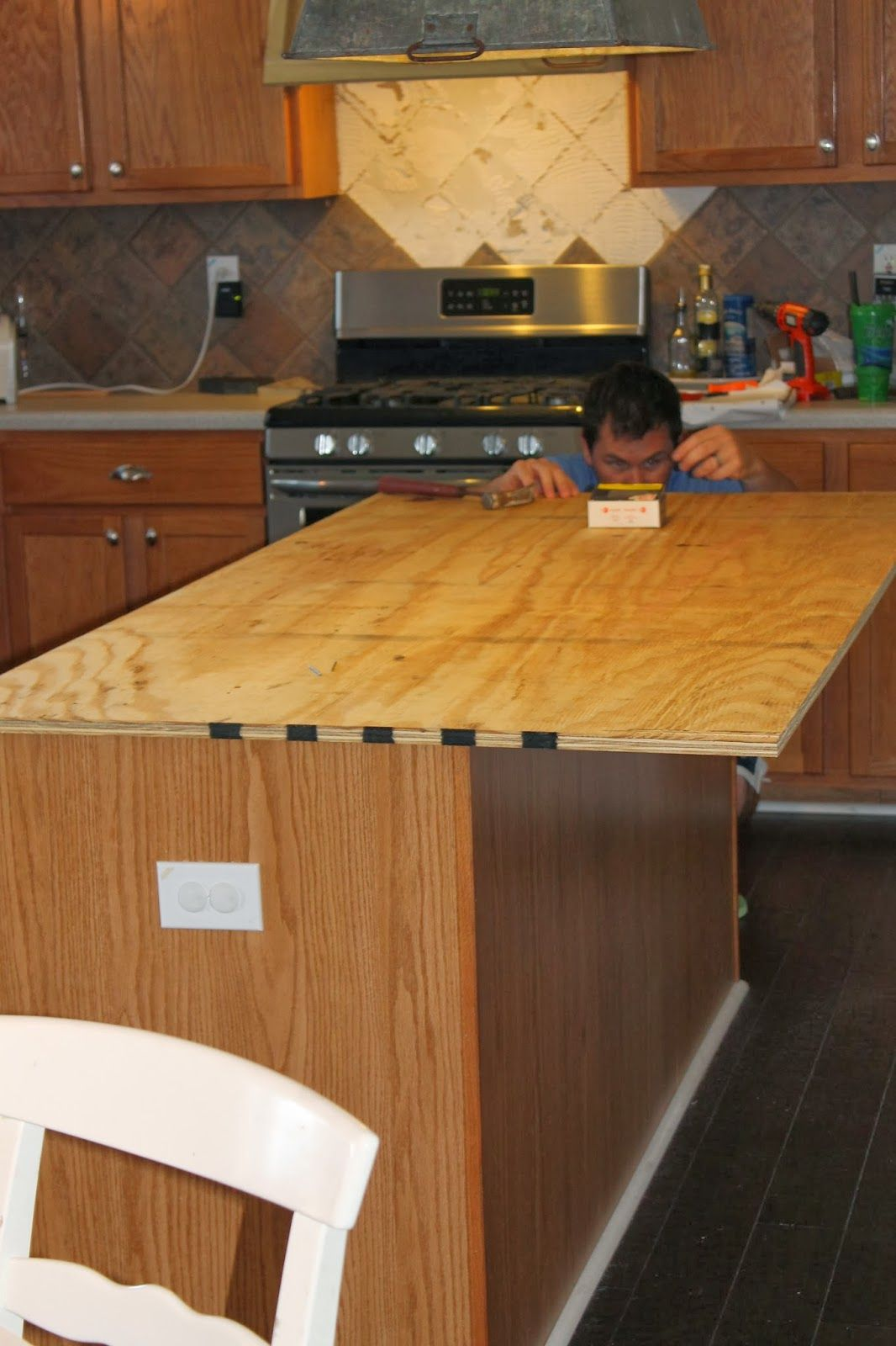 Buy Wood Countertops Install New Plywood Base For Faux Reclaimed Wood