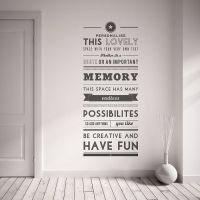 Personalised Quote Wall Sticker | Quote wall, Wall sticker ...