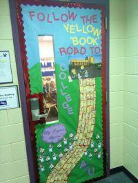 """""""Go get it"""" week door contest at Santa Rita elementary ..."""