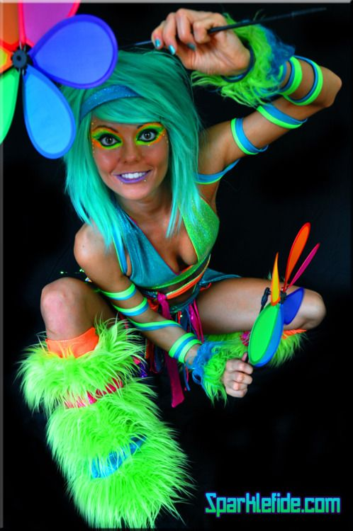 Candy Ravers Candy Raver Costume Halloween Costumes